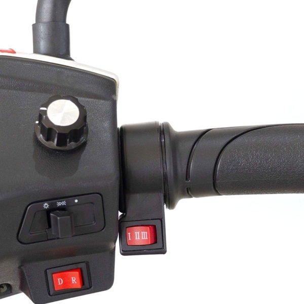 Triporteur Électrique Roadstar – Poignée d'accélération