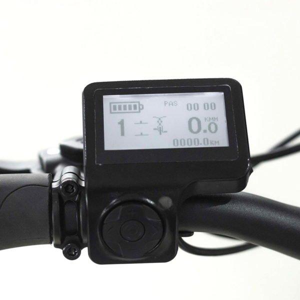 Vélo Électrique London – Panneau d'affichage numérique