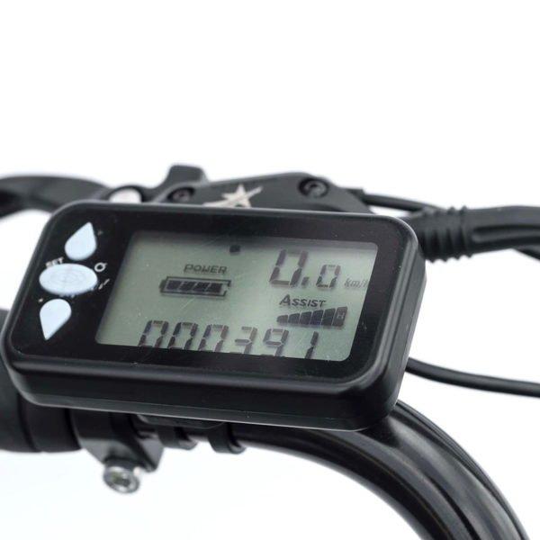 Vélo électrique Paris 20Ah avec Odomètre numérique