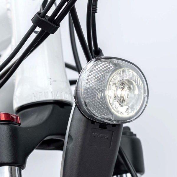 Vélo électrique Vermont 20Ah – Phare lumineux avant