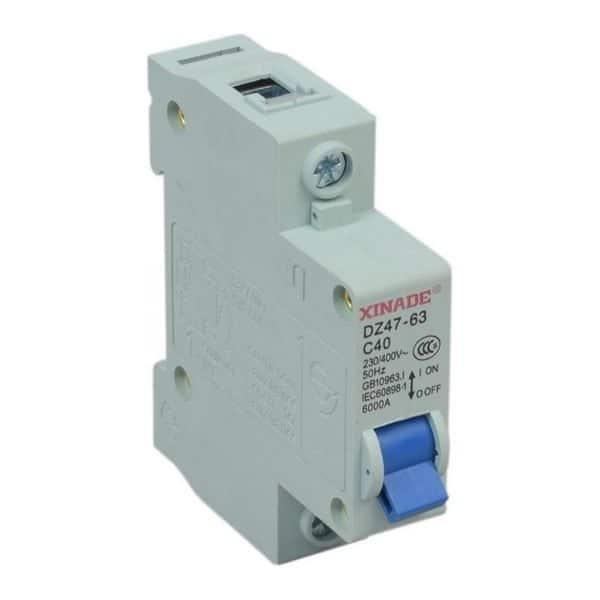 Disjoncteur 40 Ampères pour véhicules électriques 12V à 400V