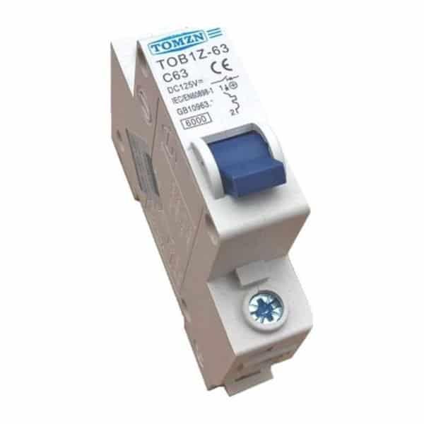 Disjoncteur 63 Ampères pour véhicules électriques 12V à 400V
