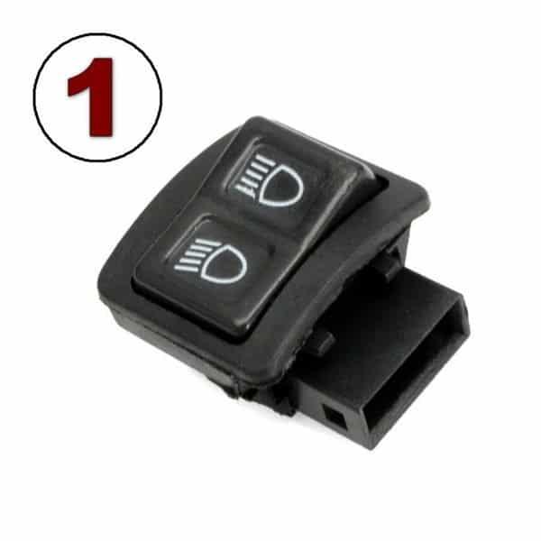 Interrupteur pour le changement de lumière basse/haute (Modèle #1)
