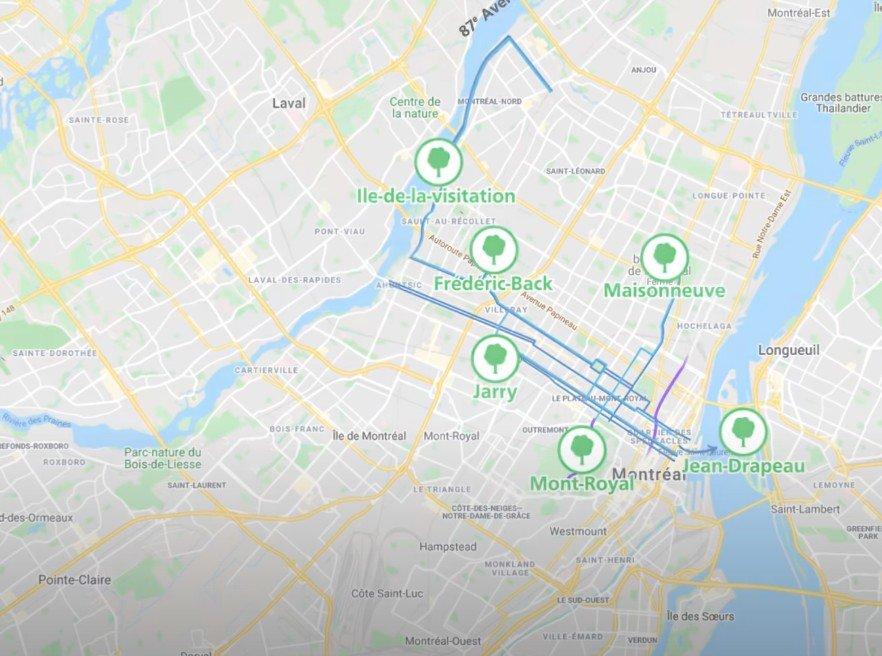 Nouvelles voies pour les cyclistes cet été à Montréal