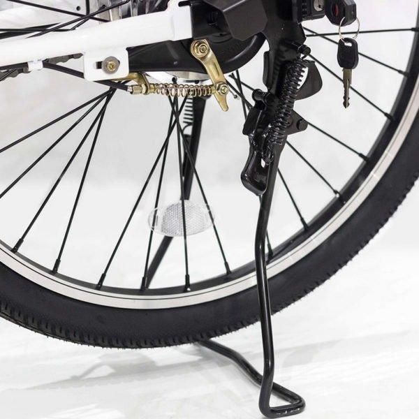 Bicyclette électrique Paris 36V – Roue et support