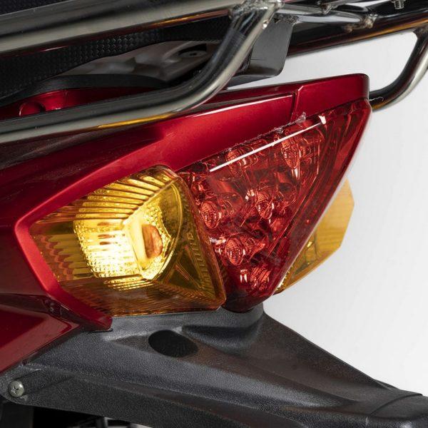 Scooter électrique Vienna 84V – Lumières arrière