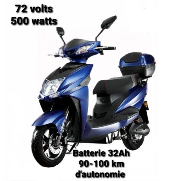 Velo scooter électrique FASTER KX