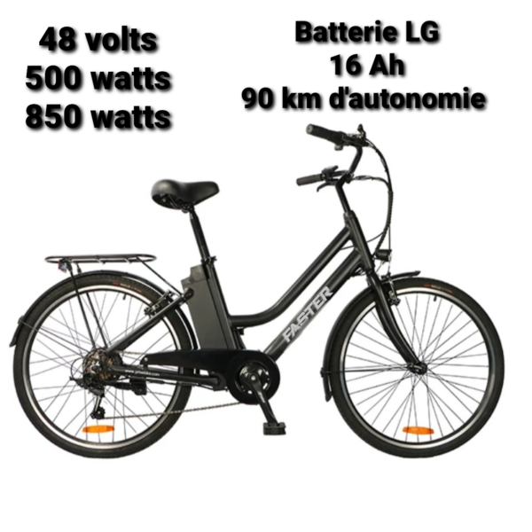 Vélo à assistance électrique 48 Volts modèle KS-D