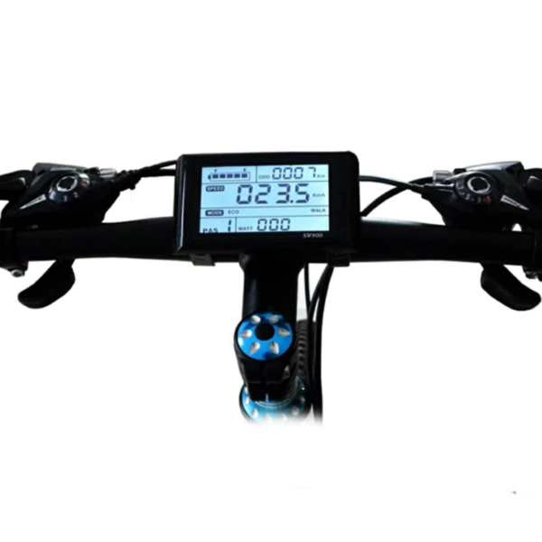 Vélo à assistance électrique modèle KS-D - Tableau de bord numérique