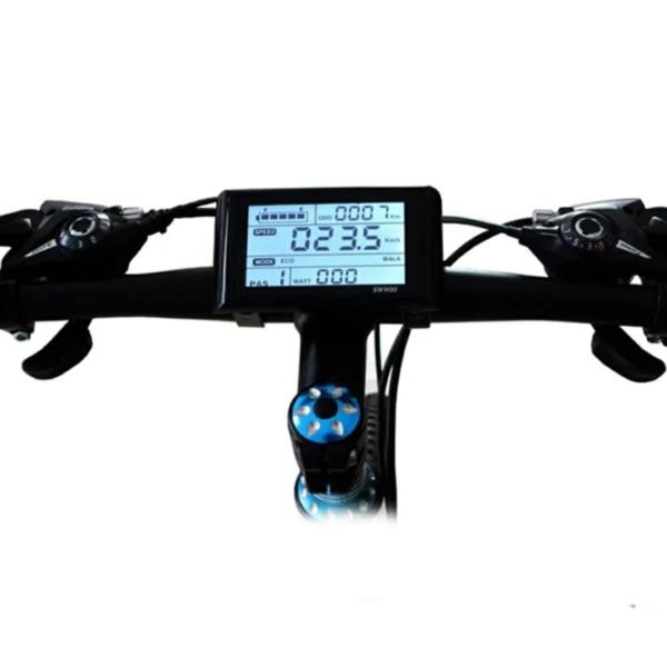 Vélo Fat Bike à assistance électrique modèle KS-26 - Tableau de bord numérique