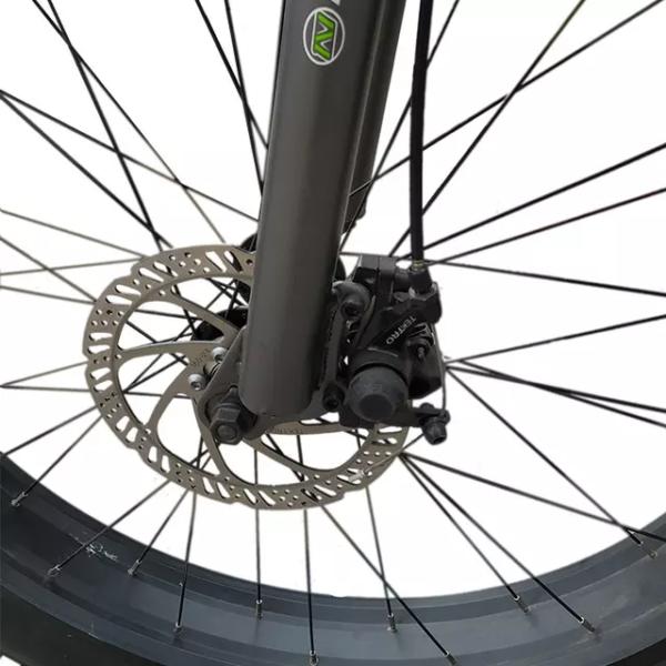 Fat Bike avec moteur électrique modèle KS-26 – Frein à disque roue avant