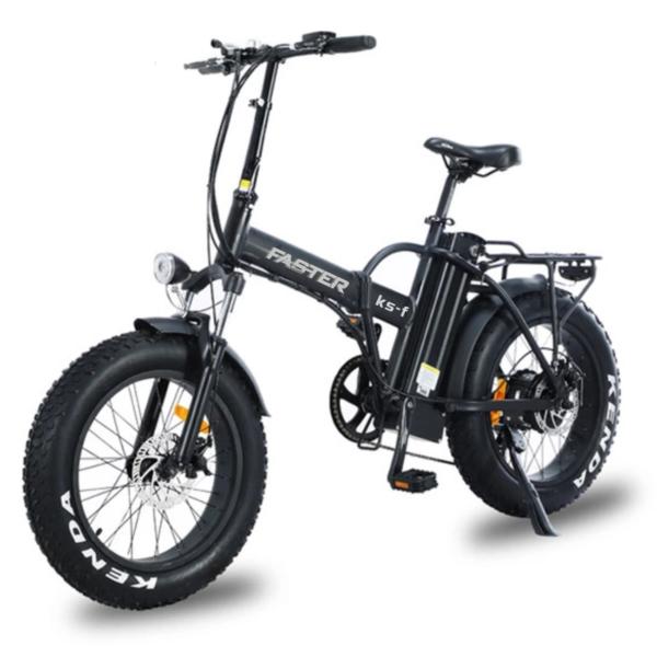 Vélo Fat Bike à assistance électrique et pliable modèle KS-F