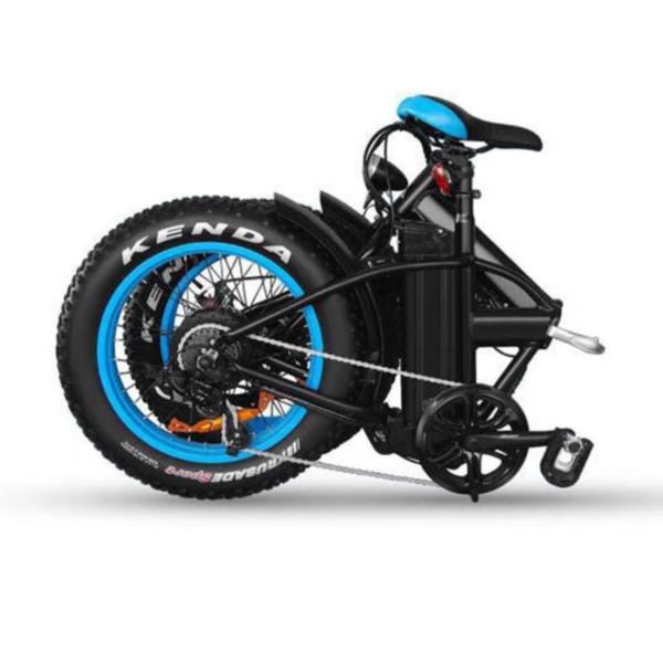 Fat Bike électrique modèle KS-F en position plié