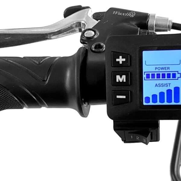 Bicyclette électrique Cargo - Panneau d'affichage numérique