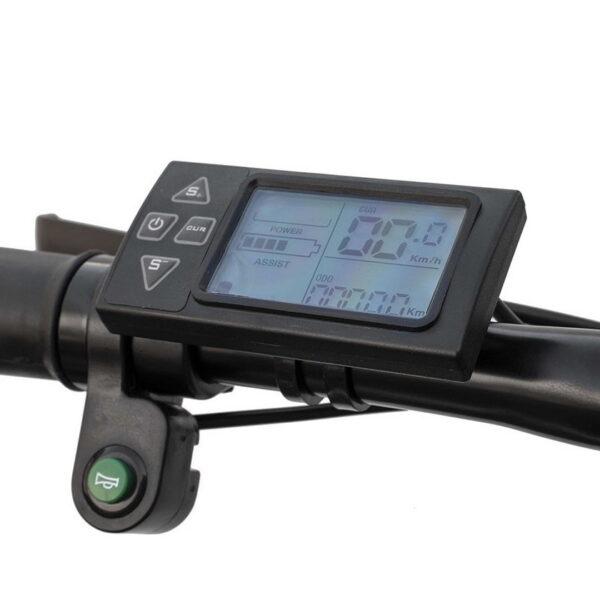 Vélo Fat Bike électrique Max – Panneau d'affichage numérique