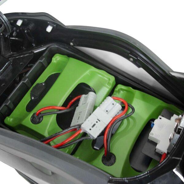 Velo scooter électrique EM4 - Batteries 72 Volts